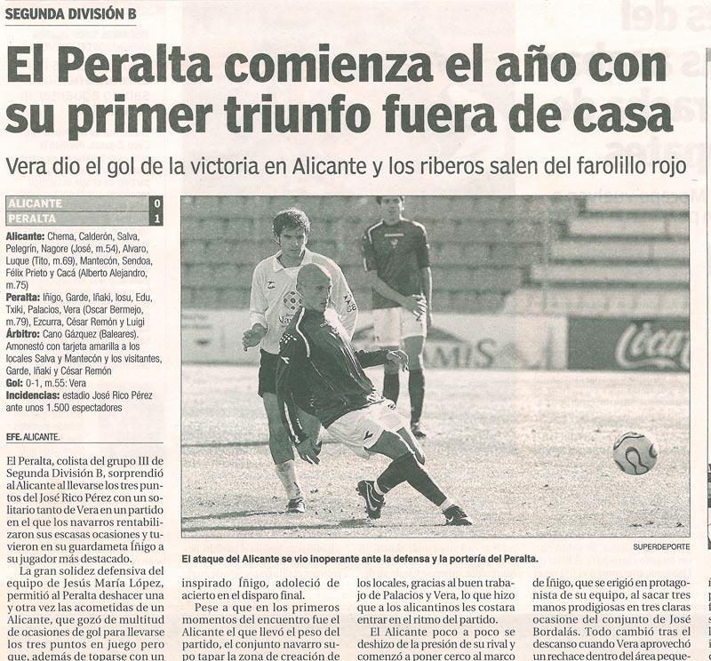 Diego Vera Idoate - Futbolista - Football player - Alicante Rico Pérez