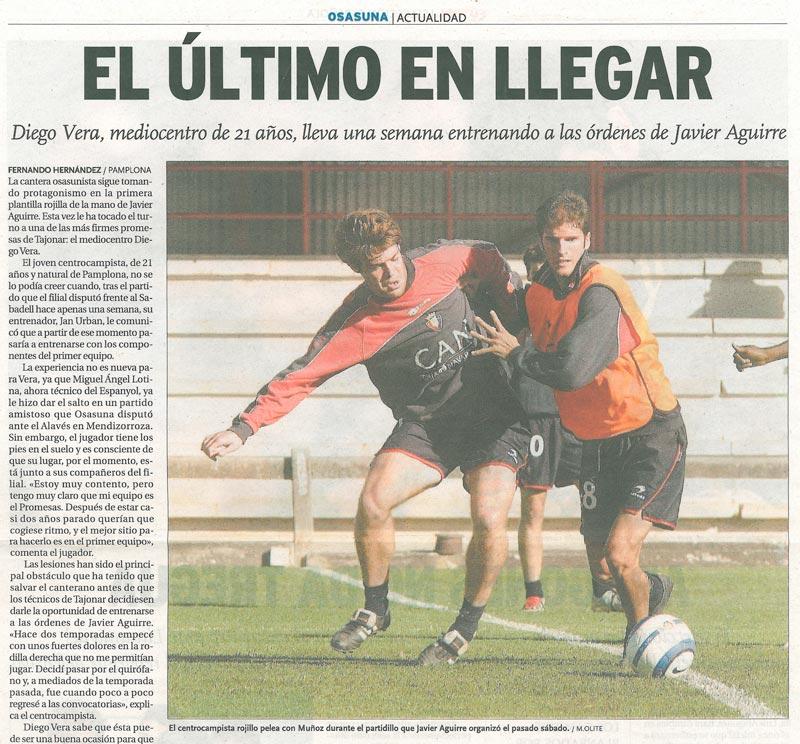 Diego Vera - Osasuna Primera División